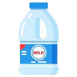 süt dolum kabı